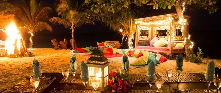 Luxury Holiday Ideas Necker Island Resort Beach evenings