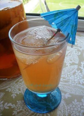 hülyalı lezzetler: Şeftalili Buzlu Çay ( ice tea)