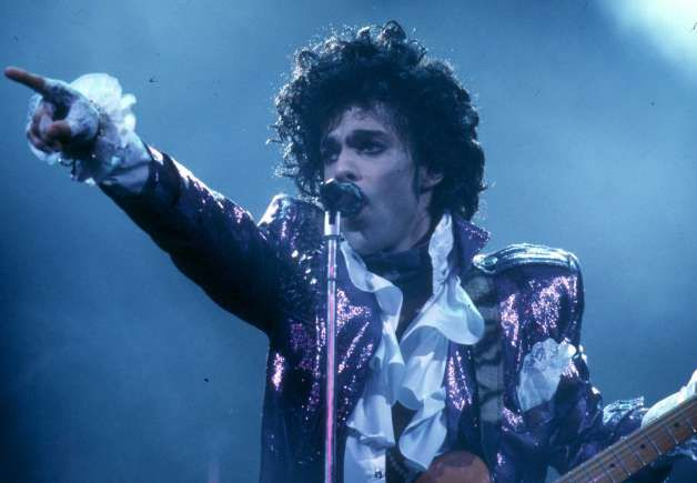 Prince performs live at the Fabulous Forum on February 19, 1985 in Inglewood, California. Photo: Michael Ochs Archives, Getty Images / Michael Ochs Archives