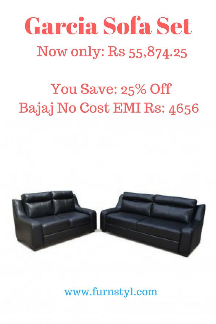 Garcia Sofa Set Furnstyl Styltherapy Furnstylblog Noida Furniture Showroominnoida Del Buy Home Furniture Home Furniture Online Luxury Furniture Showroom