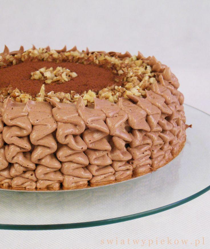 orzechowy tort
