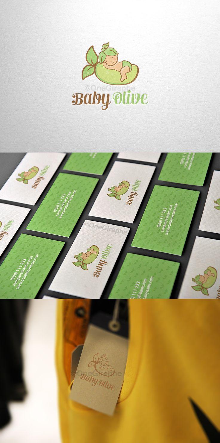 Branding for Sale! Logo + business card ( 2 sides )  Customisable Fonts and Colors  - Order at: Onegiraphe@gmail.com www.One-Giraphe.com #newborn #baby #logo #logodesign #cute #sleep #sleepy #graphic #design #designer #portfolio #behance #logopond #brandstack #store #kids #children #logodesign #design #designer #brand #brandidentity #green #eco #organic