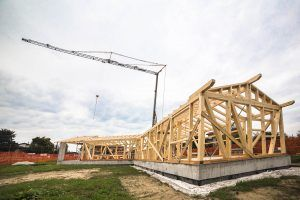 struttura casa geosana+ legno massiccio