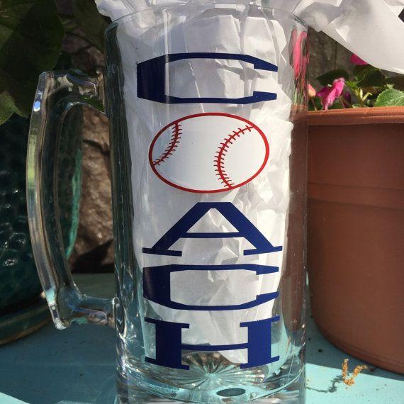 Baseball Coach Beer Mug-24 oz Beer Mug-Fun Gift for by CraftyKnee