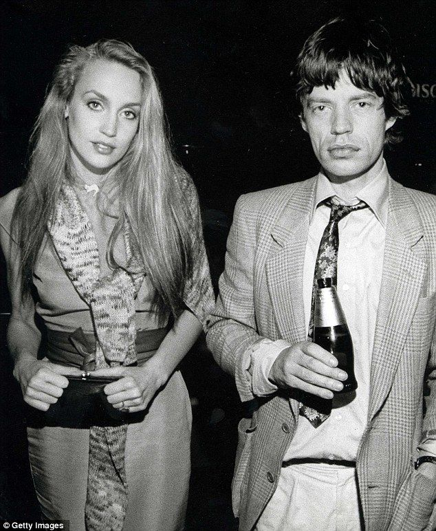 Mick Jagger and Jerry Hall- getty images