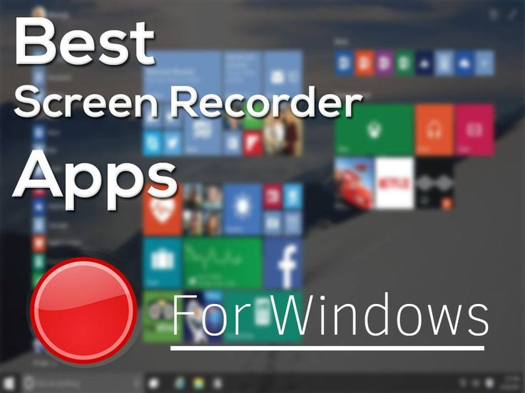 Best Free Screen Recorder For Windows 10,7,8. 4K Gameplay, Screen Recording With GPU. Good screen recording Softwares and Applications List.