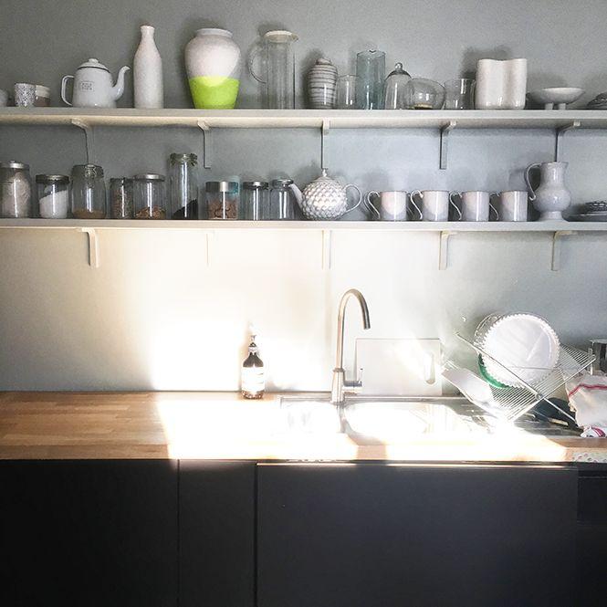 Les 25 meilleures id es concernant facade cuisine ikea sur for Etagere cuisine lumineuse