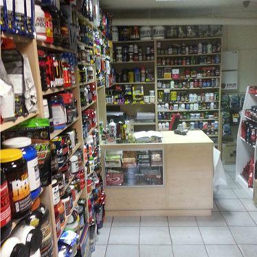 A tak prezentuje się sklep na Al. Niepodległości od środka. Trochę tego jest :-) a to tylko 1 ściana.