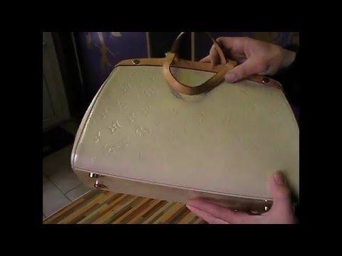 Чистка сумки LOUIS VUITTON Тел 89154994243  Реставрация и  покраска сумки Луи витон - YouTube