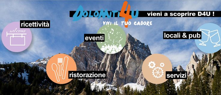 Dolomiti 4U - #categorie #icons #dolomiti4u #slide