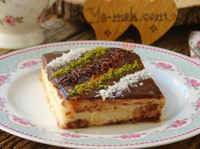 Çikolata Soslu Kedi Dili Tatlısı Resimli Tarifi - Yemek Tarifleri