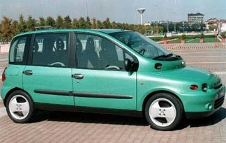 Fiat Multipla. As one article said, so ugly it's almost cute