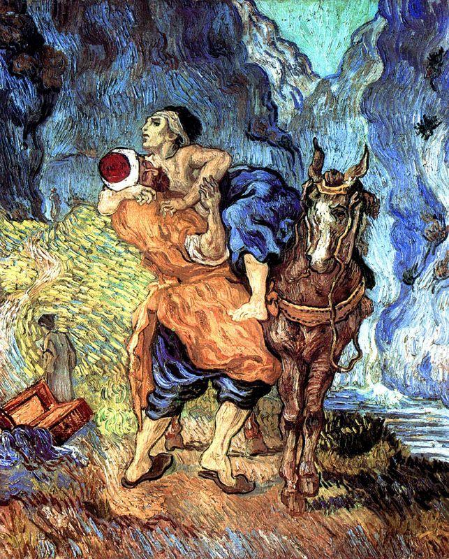 Van Gogh (da Delacroix)