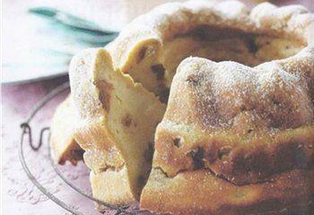 Broodpudding met chocolade