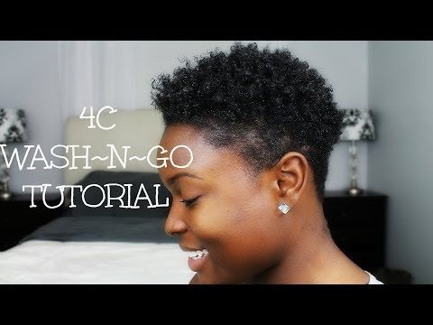 How To: Flat Twist-Out on Tapered Natural Hair - YouTube