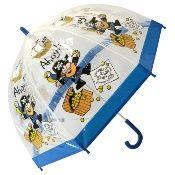 Bugzz PVC Dome Umbrella for Children - Pirate