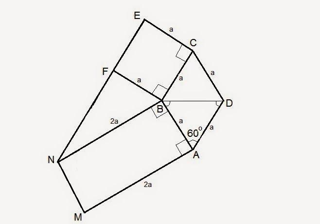 Matematică - rezolvări detaliate: Problema cu romb si coliniaritate