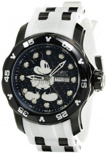 Este Invicta 23765 Disney Limited Edition, con 48 mm de diámetro, una maquinaria de cuarzo y cristal Flame Fusion, debe ser tuyo. Obténlo directamente de nuestra tienda online https://invictamexico.com/invicta-hombre-23765-disney-collection-reloj-acero-inoxidable-negro.html