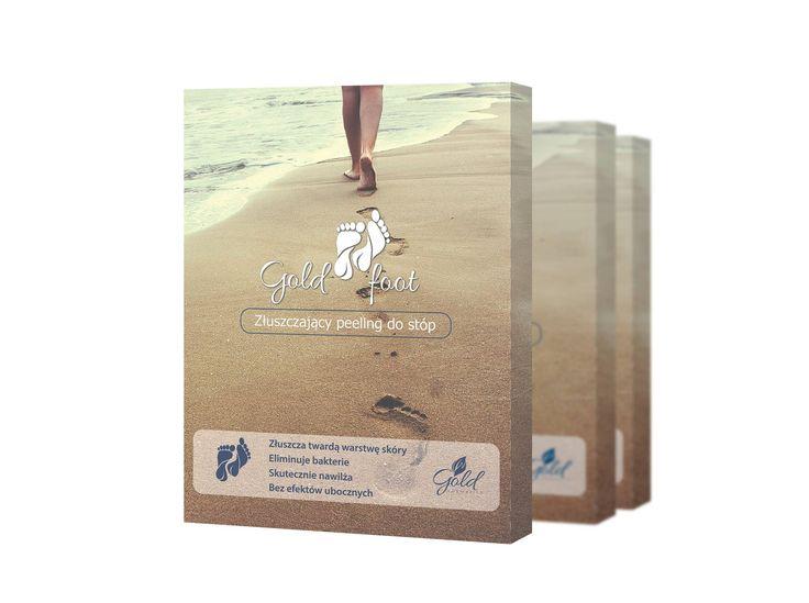 GoldFoot to w 100% naturalny peeling złuszczający do stóp :) Podaruj swoim stopom drugie życie :)