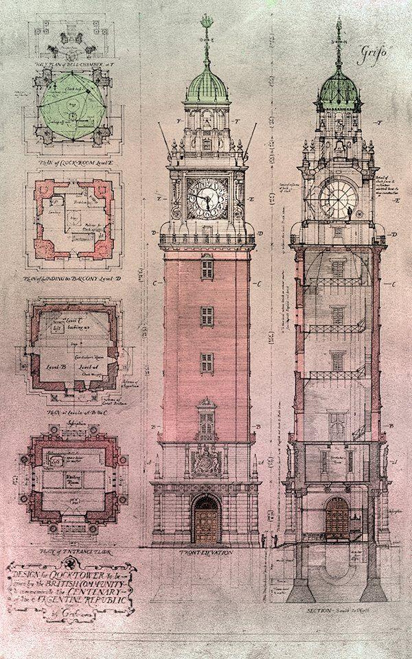 La torre de los ingleses - Retiro - Buenos Aires