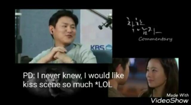 I fallin in love with joongki's LAUGH 😂😂 and the director was so cuteeee! He told them that he never knew, he would like kiss scene so much lol. . . pd-nim cute banget. dia bilang kalau dia gak nyangka bakal suka banget sama kiss scene dan Chaewon joongki langsung ngakak lol 😂😂 . .  Trans by onewleecia ig and coffecrunch twitter  #songjoongki #joongki #joongkioppa #moonchaewon #chaewon #descendantsofthesun #dots #niceguy #theinnocentman #chaeki  #kangmaru  #착한남자 #송중기 #태양의후예 #유시진 #문채원…