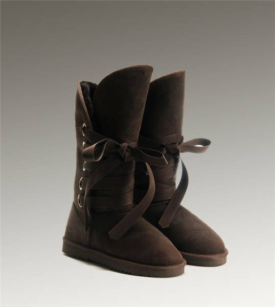 UGG Tall Roxy 5818 Chocolate Boots http://www.salesnowboots.com/ugg-tall-roxy-5818-chocolate-boots-p-527.html