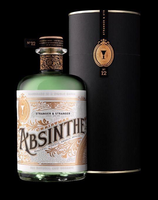 Beautifull absinthe bottle