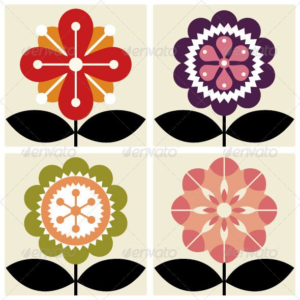 Flower  #GraphicRiver         sets of vector flowers     Created: 2November11 GraphicsFilesIncluded: VectorEPS Layered: No MinimumAdobeCSVersion: CS Tags: art #card #colorful #flower #happiness #illustration #leaf #pink #purple #sunflower #sweet #vector