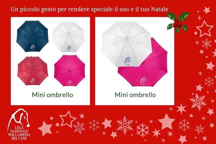 Un piccolo gesto per rendere speciale il suo e il tuo #Natale ♥ #ombrello #shoppingsolidale #lamorelasciailsegno #oltrelaspecie 👉 http://bit.ly/2fZz4QP