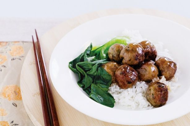 Roll up these tasty meatballs for an Asian-style dinner with a difference!