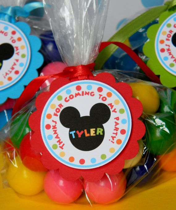 12 Mickey Mouse Clubhouse Birthday Party by sweetheartpartyshop