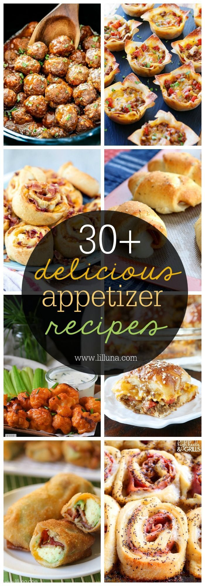 30 appetizer recipes a great collection for parties for Great party appetizer recipes