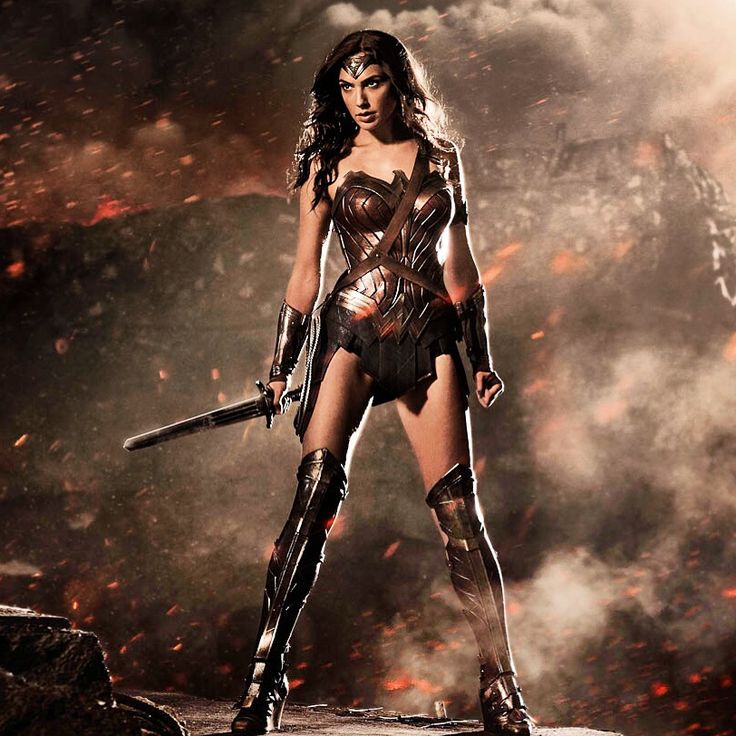 "Warner Bros. debuted the first image of Gal Gadot as Wonder Woman this morning at Comic-Con International in San Diego as the actress joined her ""Batman v Superman: Dawn of Justice"" co-stars Ben Affleck and Henry Cavill on stage in Hall H. www.bandteesandpopculture.com for more! #sdcc2014 #sdcc #comiccon #wonderwoman #batmanvsuperman #GalGadot #Batman #Superman #bandteesandpopculture"
