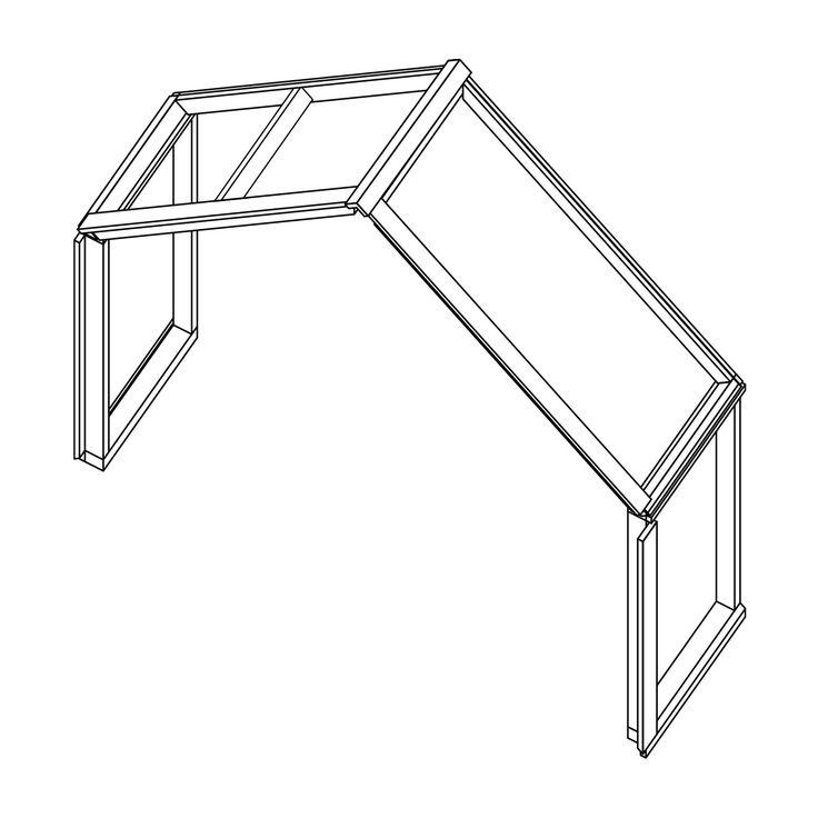 Veg&Able-kasvihuoneen kattoluukullinen lisämoduuli. Kattoluukussa on automaattinen avaaja. Lisämoduulilla saat lisää pituutta kasvihuoneeseesi. Sisältää 2 x seinäosa ja 2 x katto-osa.