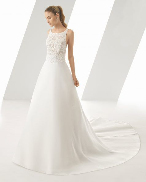 wedding dress - collection rosa clará 2019   rosa clará   weddings