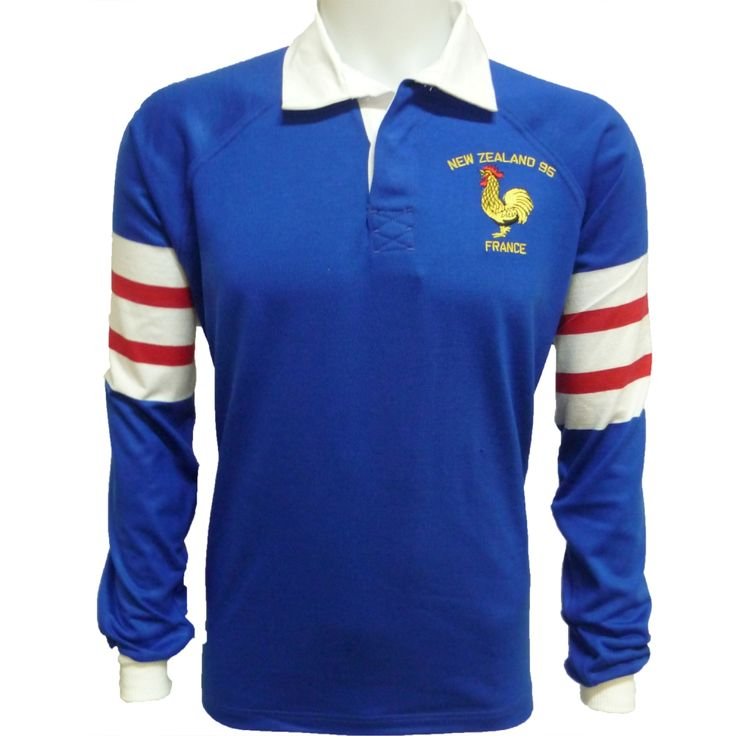 Maillot Rugby France 1995 54€
