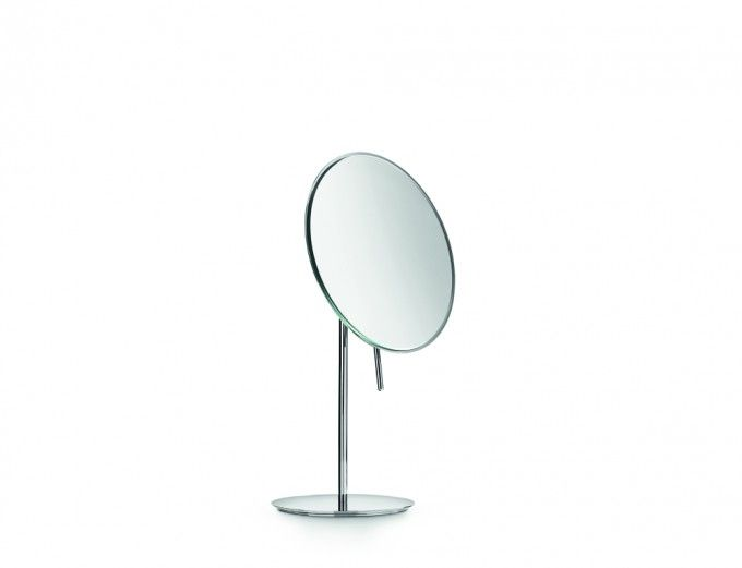 #Lineabeta #Mevedo magnifying #mirror 55943.29 | #Modern #Brass | on #bathroom39.com at 105 Euro/pc | #accessories #bathroom #complements #items #gadget