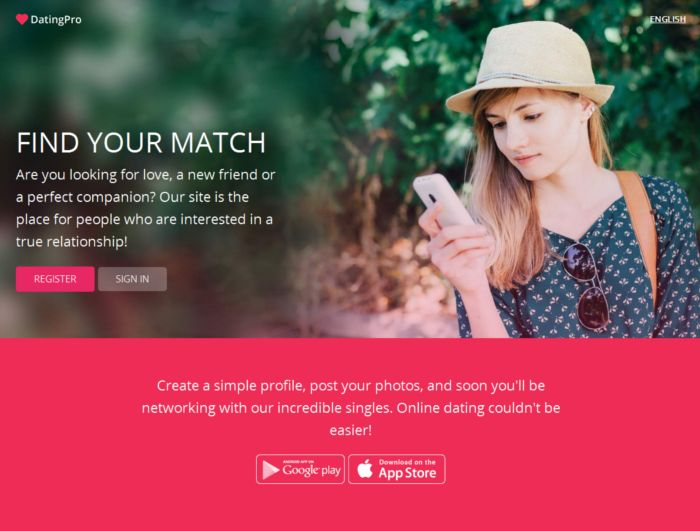 Start a dating web site