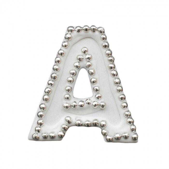 Διακοσμητικό γράμμα Α για δίσκο μνημοσύνου | Εφοδιαστική