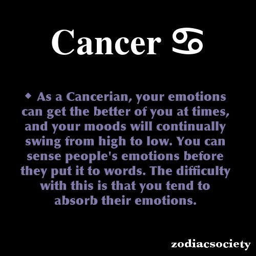 What Does My Zodiac Sign Cancer Mean