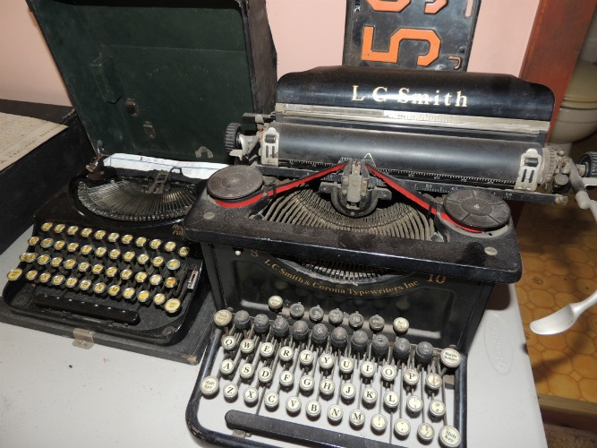 typewriters, L. C. Smith