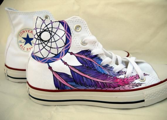 Dreamcatcher Custom made Converse All Star sneakers in 2019