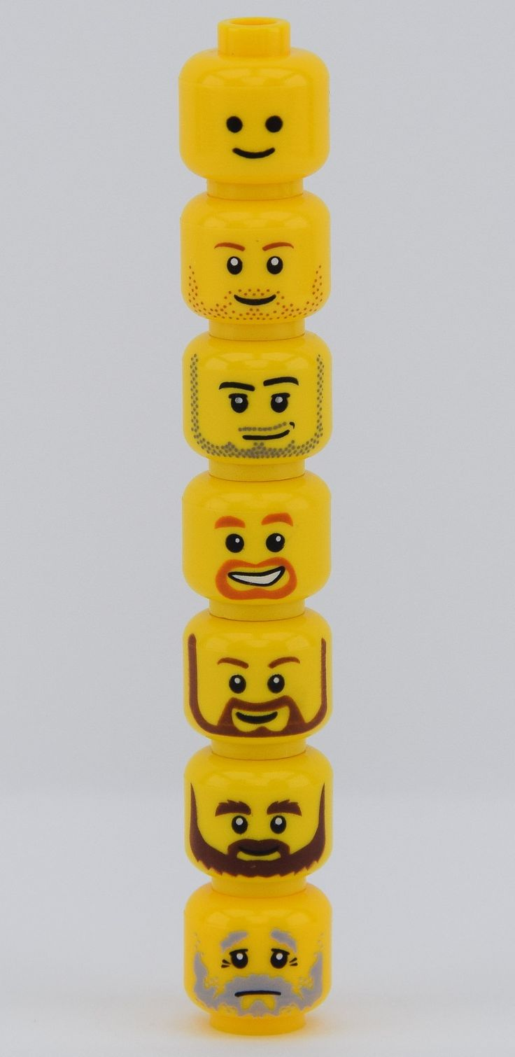 https://flic.kr/p/S22Zda | Shave your beard ! | Hello LEGO fans it's Alex THELEGOFAN here with 7 headz I always search on www.bricklink.com It's the growing of the beard everyday Heads up to down and from what minifig : -No beard : LEGO Creator Expert (and more) -Beard of the day : Atlantis Diver 4 - Lance Spears -Beard and Moustache : LEGO City, Castle, Pirates... and more themes -Beard around Mouth : LEGO City and LEGO Castle themes -Beard Brown Rounded : LEGO City and Castle themes…