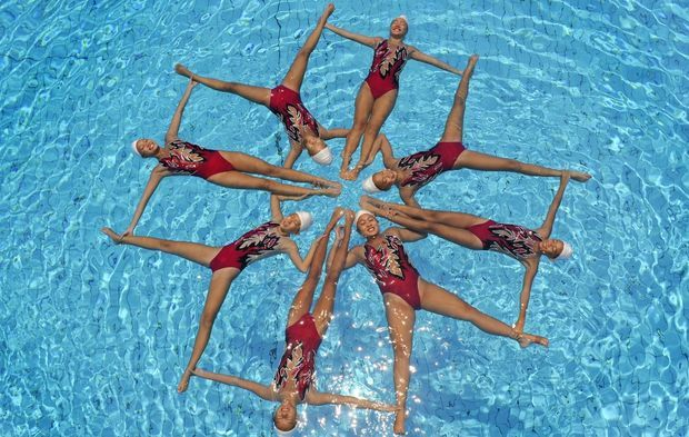 London 2012 Olympics guide - synchronised swimming