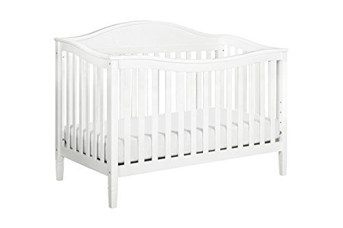 DaVinci Laurel 4-in-1 Convertible Crib, White