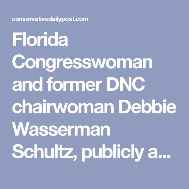 Florida Congresswoman and former DNC chairwoman Debbie Wasserman Schultz, publicly accused ex-DHS Secretary Jeh Johnson of lying under oath when he said the DNC refused the help of his department in their hacking scandal.  During his testimony in front of the House Intelligence Committee on Wednesday, Johnson said that the Democratic National Committee didn't want the help of DHS with the Russian hacking. In fact, he even revealed that they opted not to turn over their hacked servers, which…