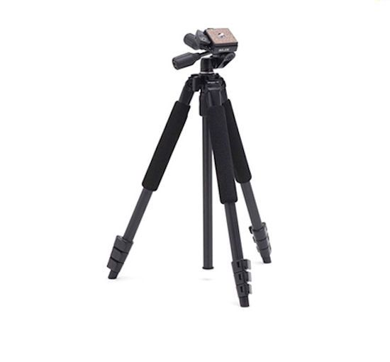 SLIK SPRINT PRO II 3Way GM Camera Tripod Black + Pen Head For DSLR Camera
