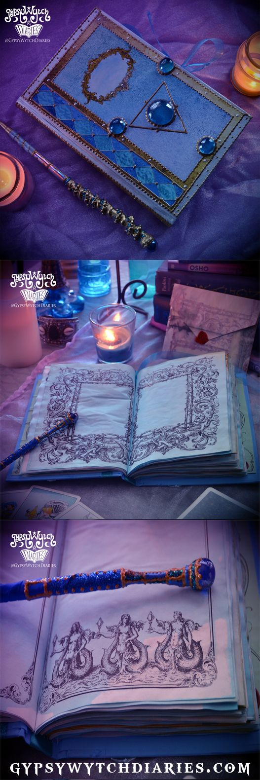 Water Element Book Of Shadows From Gypsywytch Diaries By Oddsoul Designs ·  Water Witchsea