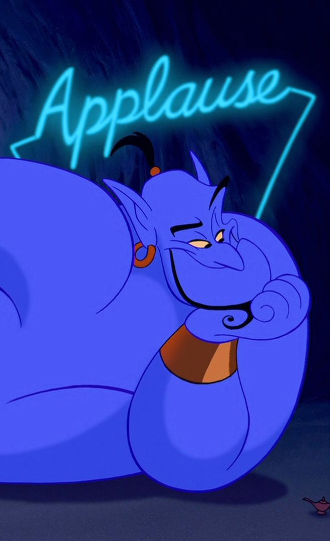 Robin Williams (the voice of genie) was found dead today... He will be forever missed #RIPRobinWilliams