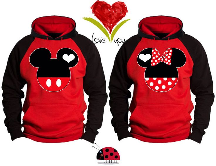 Mickey and Minnie Faces Kissing Inspired Soul Mate Love Couple Disney Perfect Matching Love Set Hoodie Sweatshirt - Price For 1 Hoodie - by GastonLadybird on Etsy https://www.etsy.com/listing/238515148/mickey-and-minnie-faces-kissing-inspired